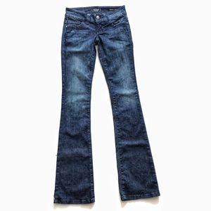 Guess Daredevil bootcut jeans jeans Sz 24